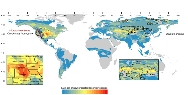 Rodent reservoirs of future zoonotic diseases